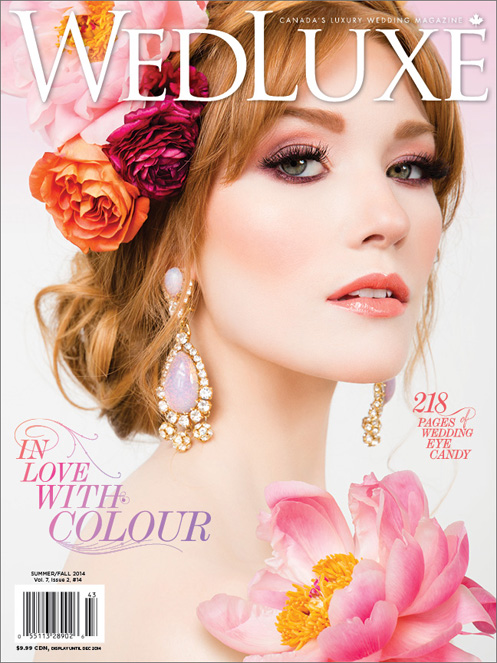 Wedluxe Summer/Fall 2014 Cover
